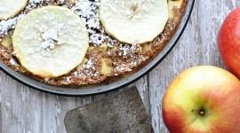 Fresh and Festive eZine Apple Bourbon Cake   farmgirlgourmet.com #stemilt #freshfestive