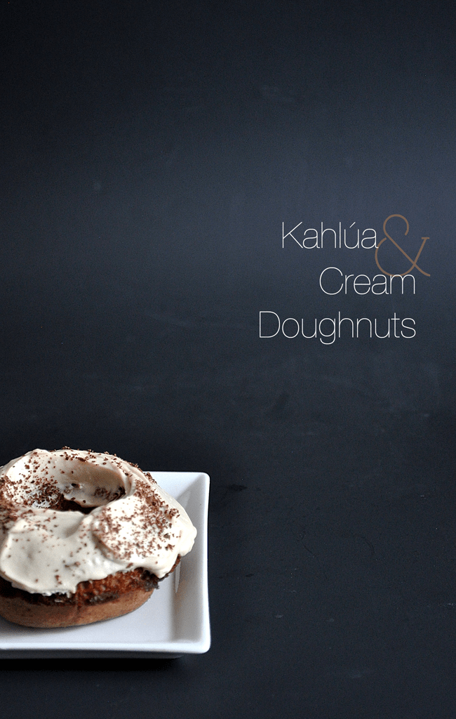 Kahlúa and Cream Doughnuts