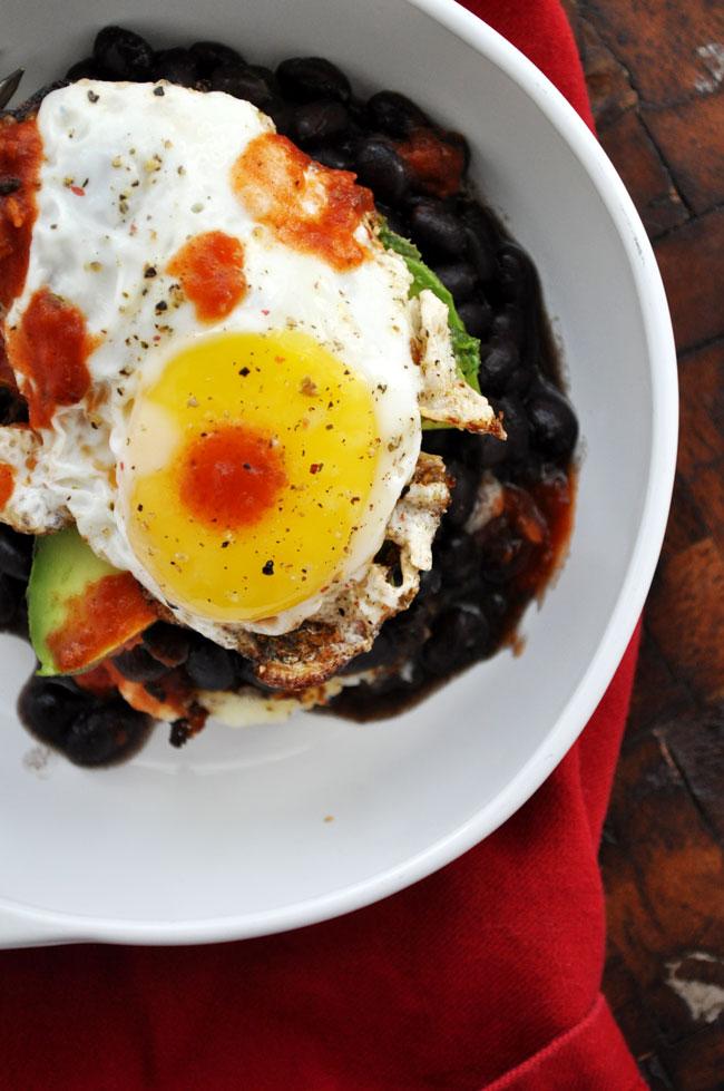 5 Ingredient Mexican Potato Stack | farmgirlgourmet.com #breakfast #spon