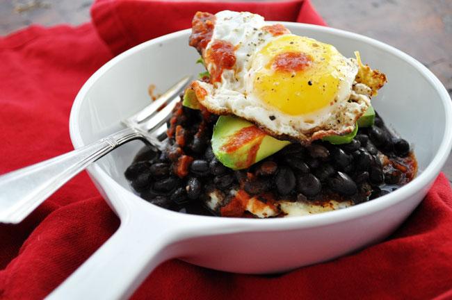 5 Ingredient Mexican Potato Stack | farmgirlgourmet.com #spon