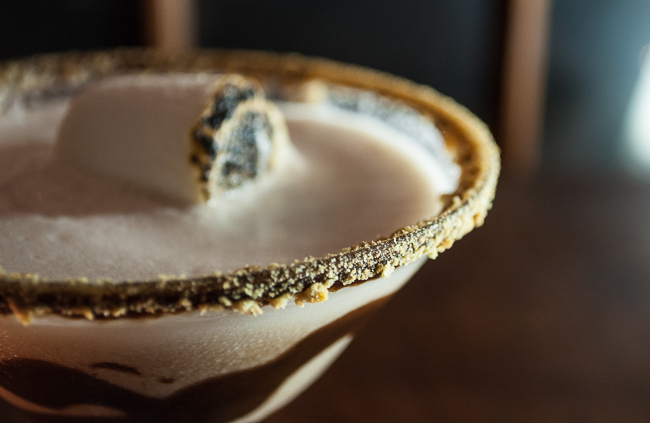 S'mores Martinis