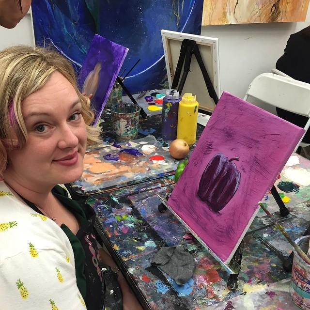 stephanie painting