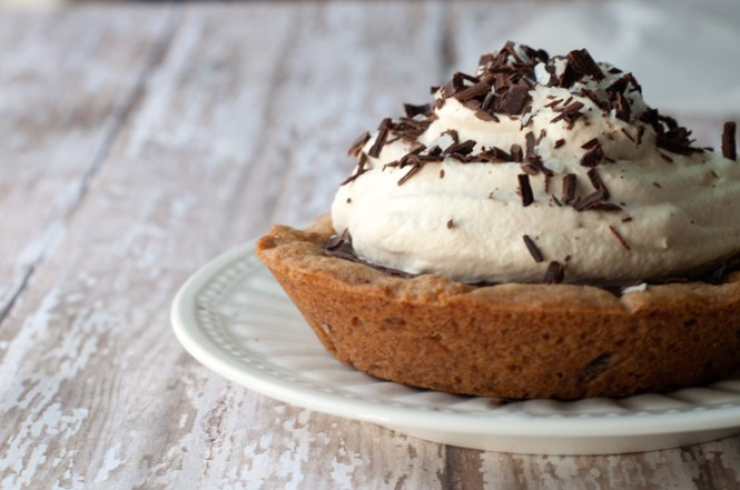 Chocolate Chip Cookie Pie | farmgirlgourmet.com