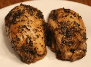 Oven-Glazed Chicken Thighs
