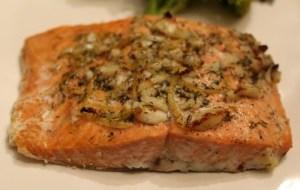 Zesty Garlic Salmon