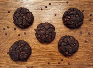 Paleo Chocolate Chocolate Chip Cookies
