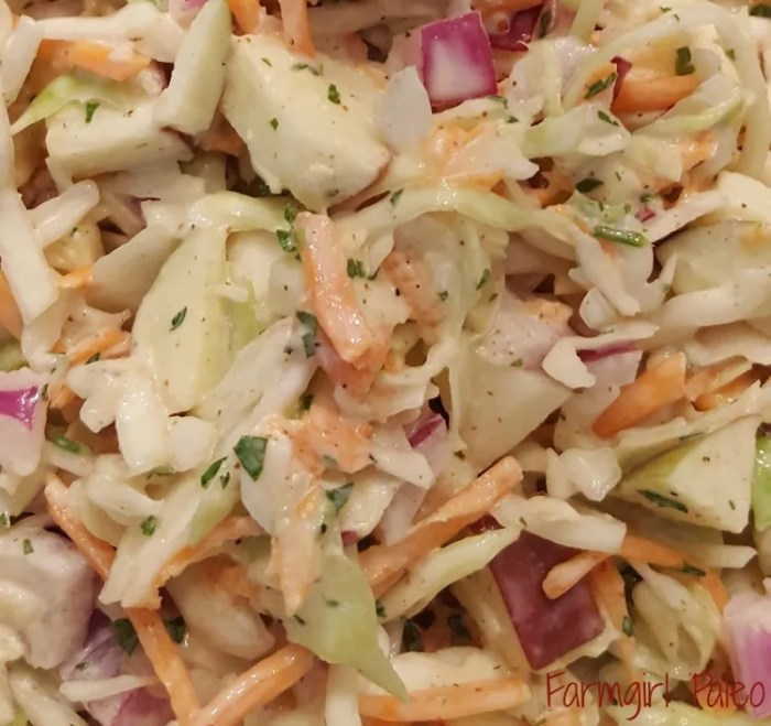 Paleo Fresh Country Coleslaw