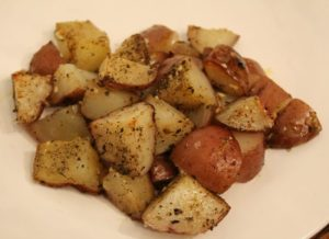 Herb Roasted Red Potatoes