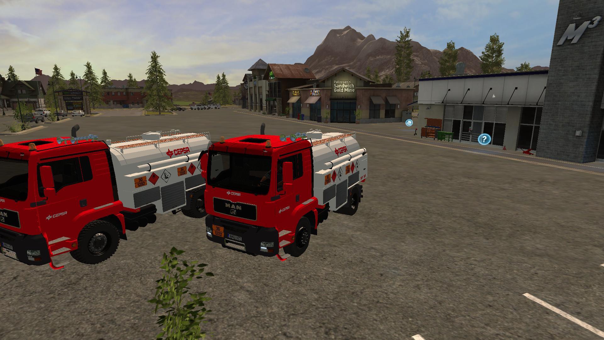 Man Cepsa Diesel V1 Ls17 Farming Simulator 17 2017 Mod