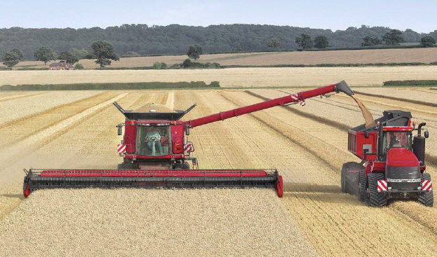 Case To Show World39s Largest Combine Header At Lamma