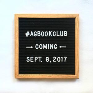 #AgBookClub