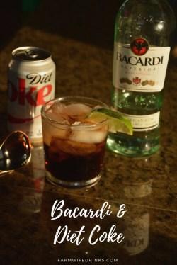 Prodigious Bacardi Rum Captain Morgan Rum Carbs Diet Coke Farmwife Drinks Carbs Captain Morgan Silver Spiced Rum Diet Coke Is Cocktail That Break Bacardi Rum