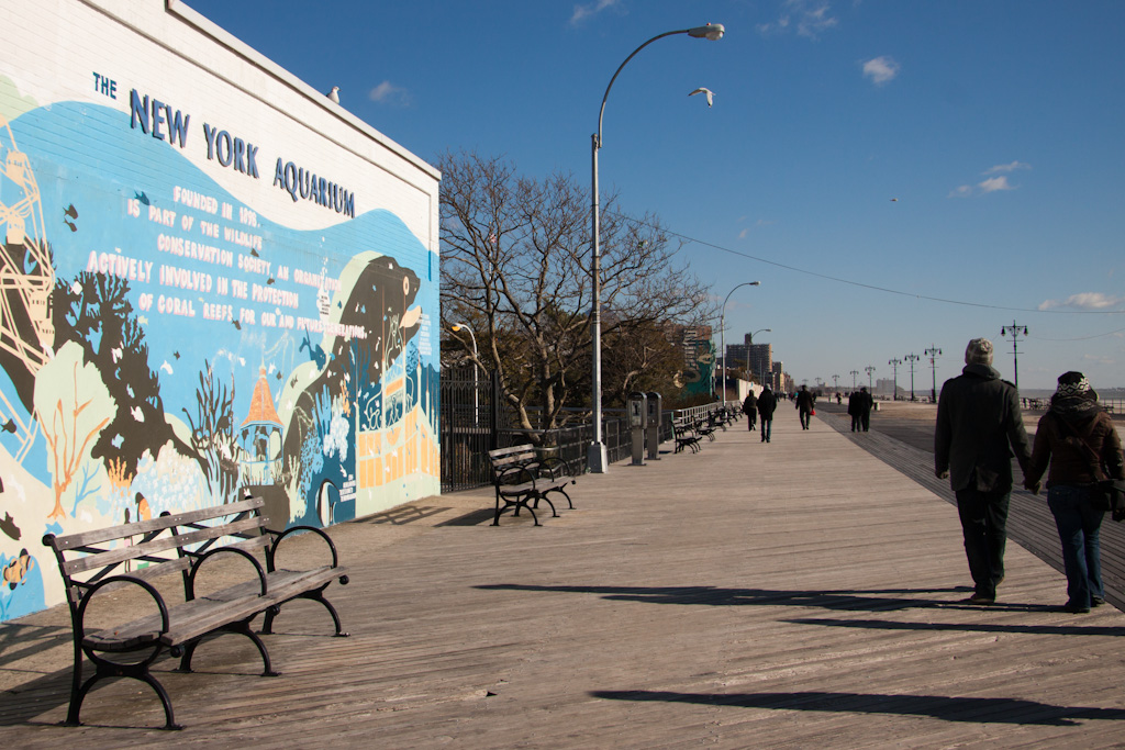 Coney island new york brooklyn f te foraine coney island Aquarium in coney island