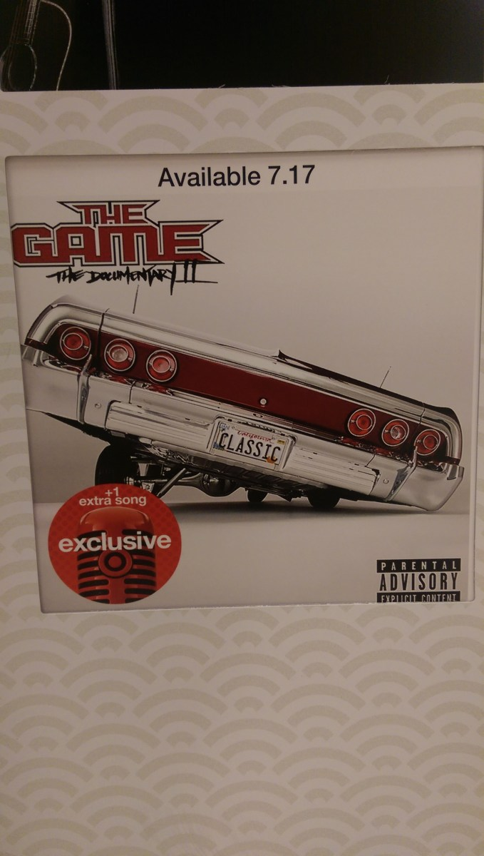 Exclusive: The Game - Documentary 2 (Artwork & Tracklist)