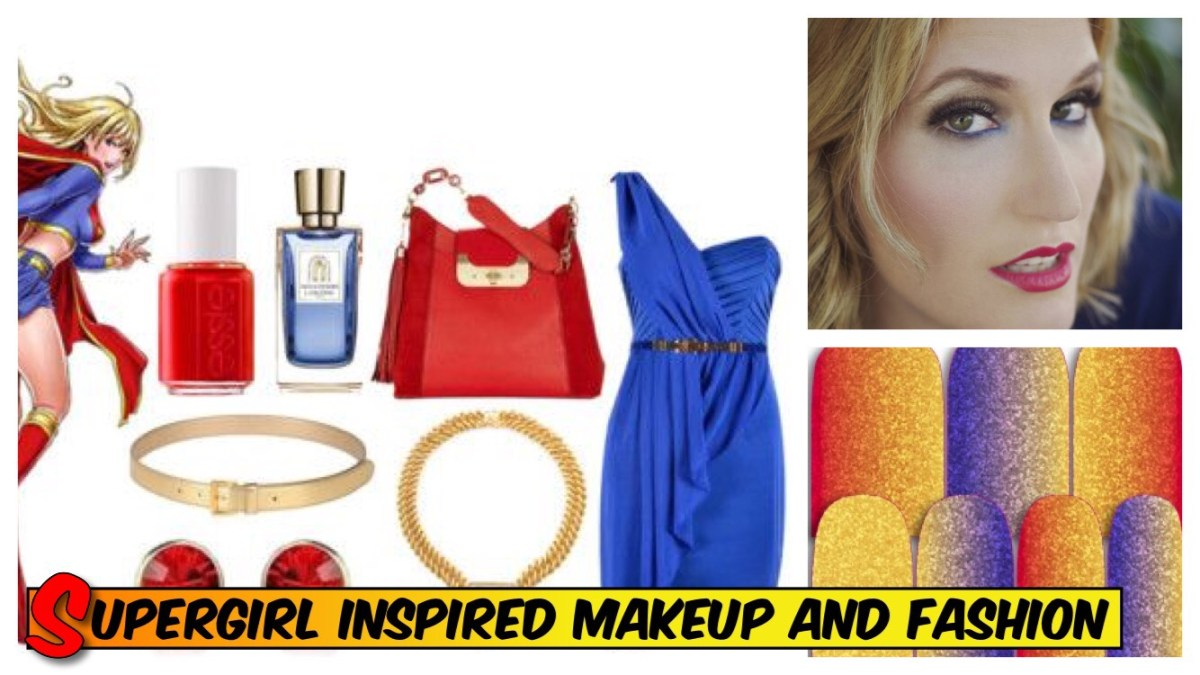 Super Makeup and Fashion Inspired by Supergirl