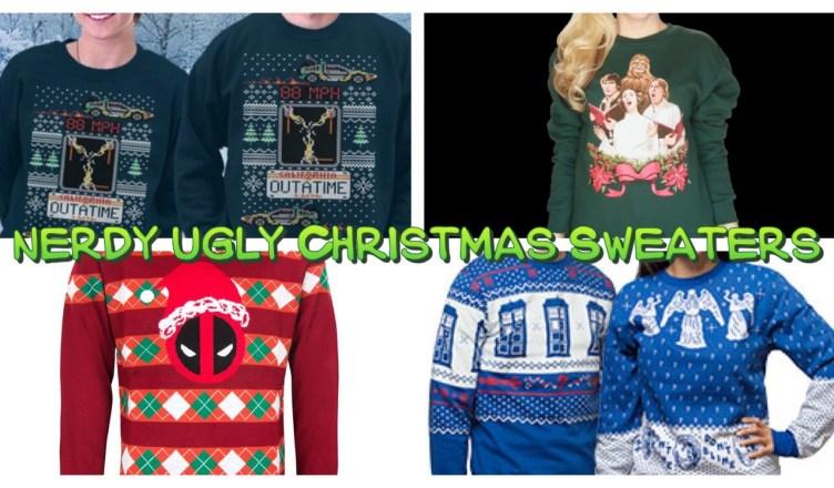 nerdy christmas sweater round up