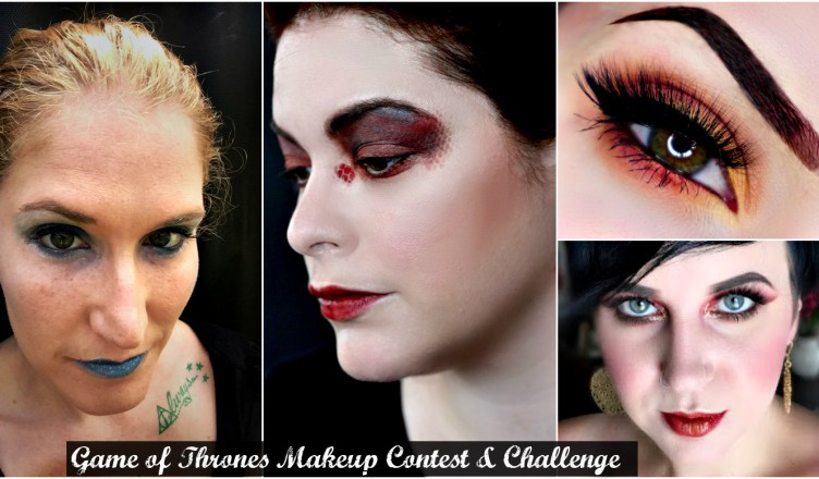 Game Of Throne Makeup Challenge Video Fashionably Nerdy