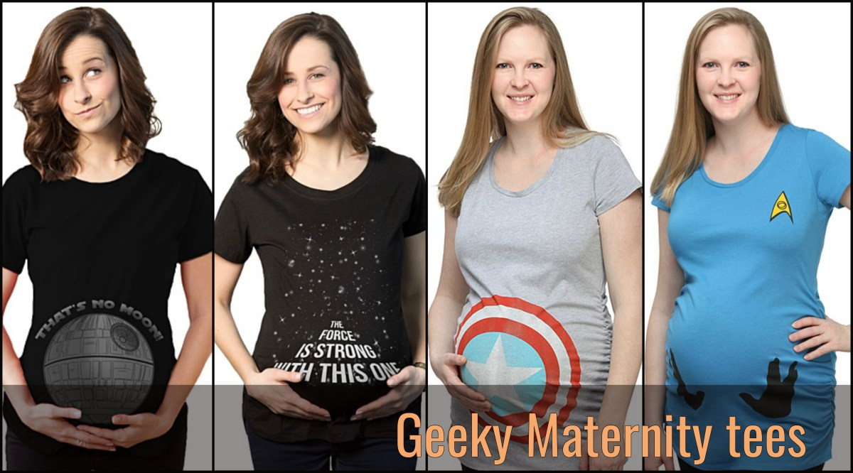 The 9 Best Nerdy Maternity Tees