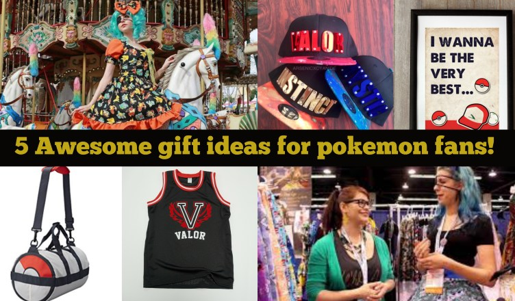 pokemon gifts, girl with one eye, fashionably nerdy, geek chic