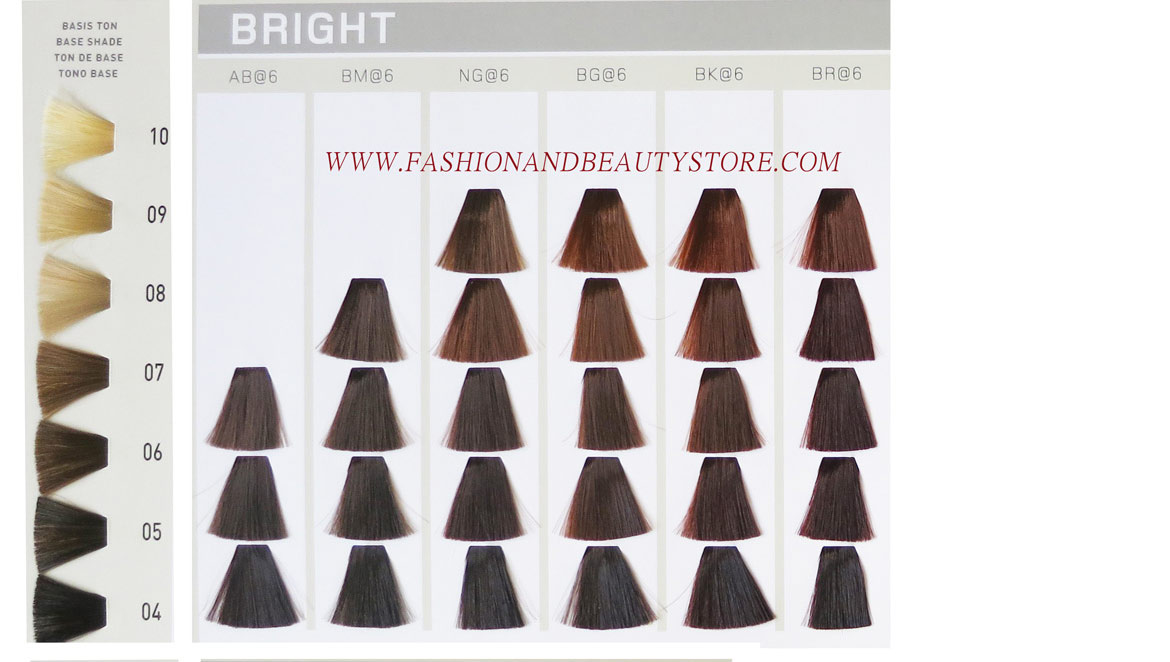 Goldwell Elumen Color Chart - hair color chart