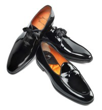 Santoni: the Black Tie shoes - Fashion and Runway