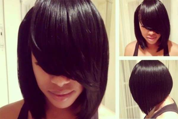 Bob Hairstyles For Black Women 2015