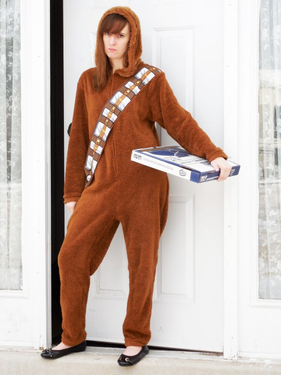 Emily from Fashion By Committee- Target Chewbacca union suit