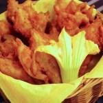 Beignets de fleur de courgettes