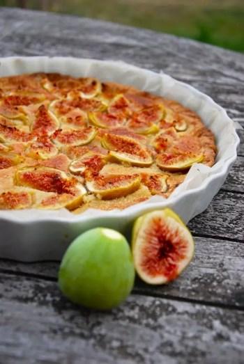 tarte aux figues creme amande