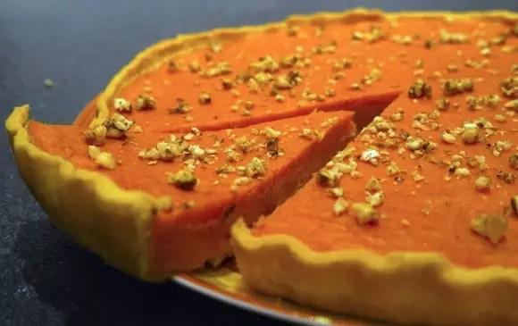 chinese pumpkin pie tarte potimarron