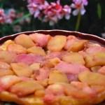 Tarte Tatin pomme-pêche