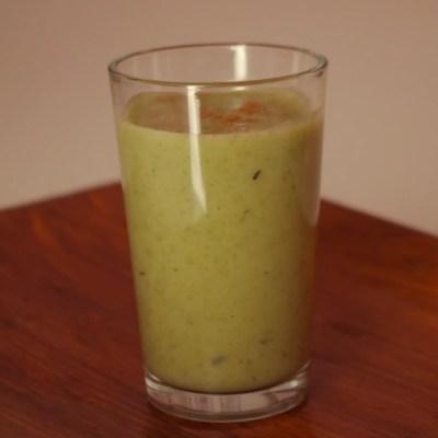 Soupe poireaux-pomme de terre