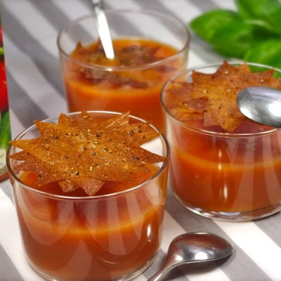 Recettes autour des soupes froides Alvalle