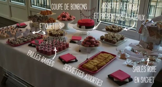 Sweet-table-fashion-pink-black