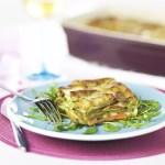 Lasagnes végétariennes légumes et parmesan