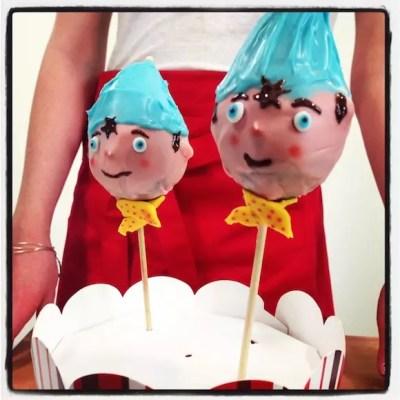 Cakes pops Oui-Oui au chocolat [en vidéo super fashion]