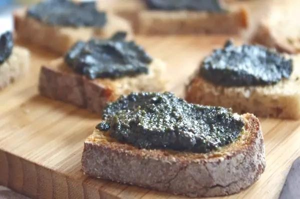 tapenade olives noires facile