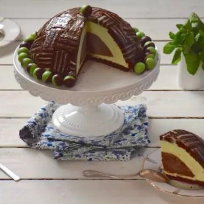 Charlotte royale menthe-chocolat