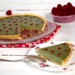 tarte-the-matcha-framboise