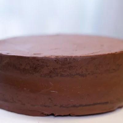 Gâteau chocolat-ganache