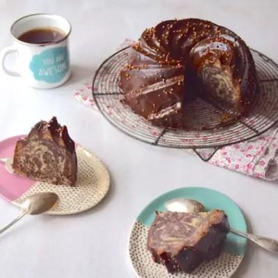 Cake marbré bundt cake