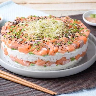 Ma trouvaille – Sushi cake
