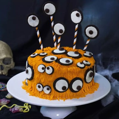 Des yeux partout – Gâteau monstre d'Halloween
