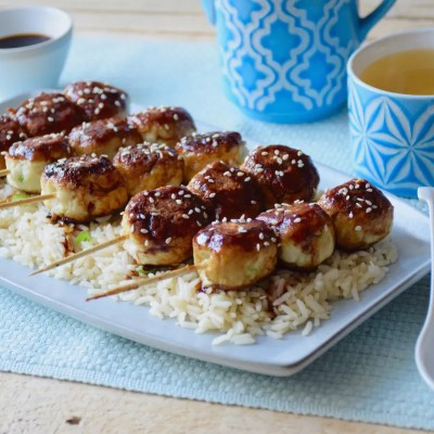 De la boulette rapide… – Boulettes de poulet express à la japonaise