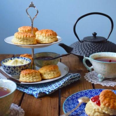 Perfect English scones