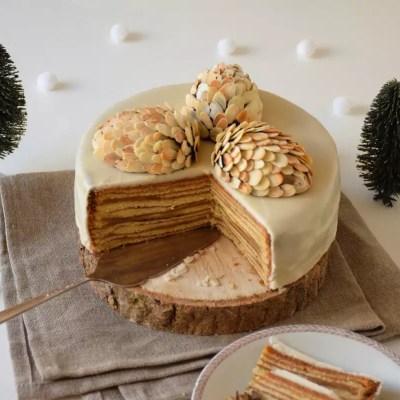Gâteau Bamkuch au four (ou Bamkuchen)