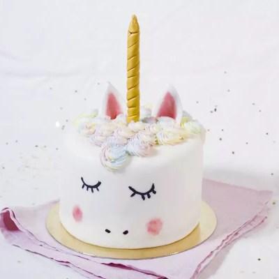 Un souffle de magie… – Gâteau Licorne