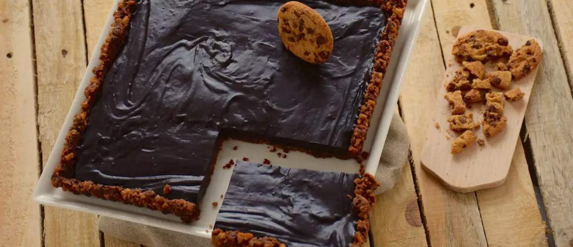 Un petit lifting – Tarte chocolat base cookies