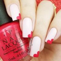 40 Cute Valentine's Day Nails Designs - Fashiondioxide