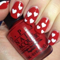 40 Cute Valentine's Day Nails Designs - Fashiondioxide